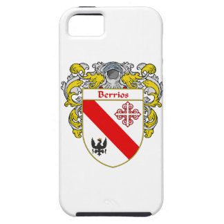 Escudo de armas de Berrios escudo de la familia iPhone 5 Cárcasa