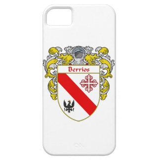 Escudo de armas de Berrios escudo de la familia iPhone 5 Case-Mate Carcasas