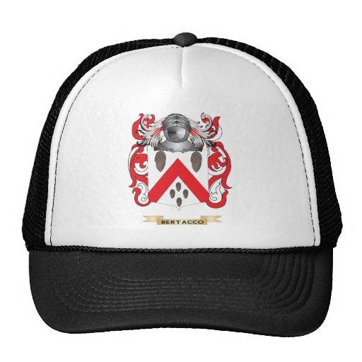 Escudo de armas de Bertacco (escudo de la familia) Gorros