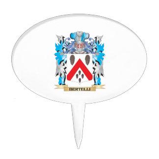 Escudo de armas de Bertelli Decoración De Tarta