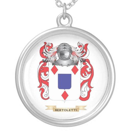 Escudo de armas de Bertoletti (escudo de la famili Joyerías