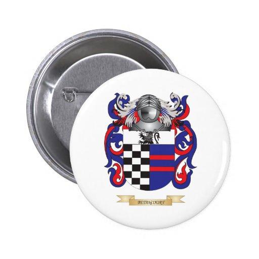 Escudo de armas de Betancourt (escudo de la famili Pin Redondo 5 Cm