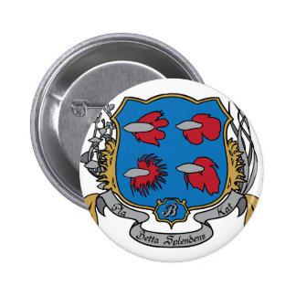 Escudo de armas de Betta Splendens Pins