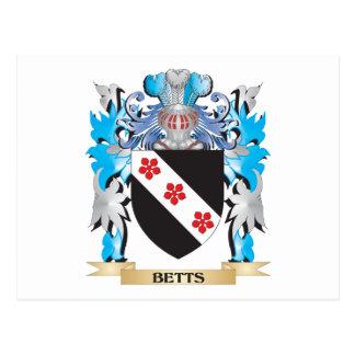 Escudo de armas de Betts Postales