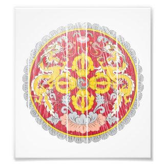 Escudo de armas de Bhután Arte Con Fotos