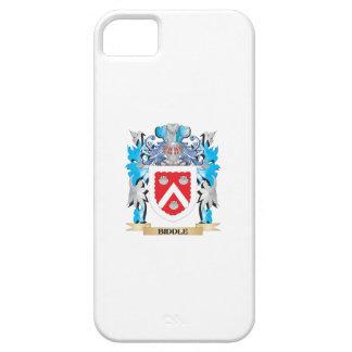 Escudo de armas de Biddle iPhone 5 Carcasas
