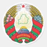 Escudo de armas de Bielorrusia Pegatina