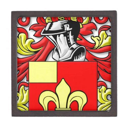 Escudo de armas de Billingsley Caja De Regalo De Calidad