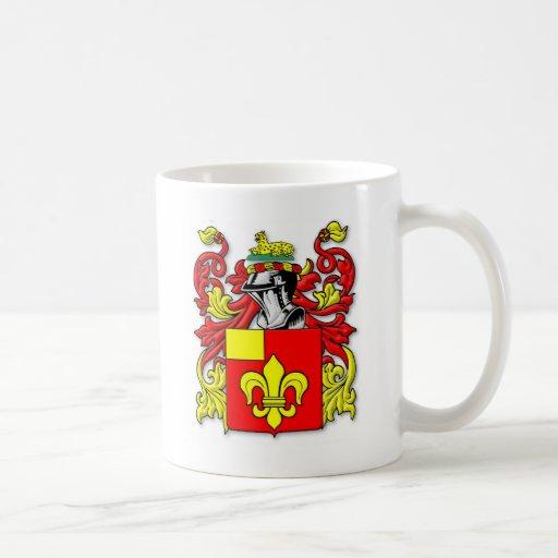 Escudo de armas de Billingsley Tazas De Café