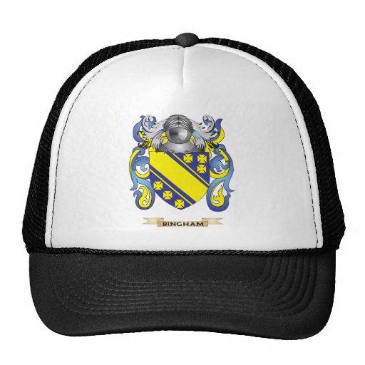 Escudo de armas de Bingham (escudo de la familia) Gorro