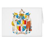 Escudo de armas de Birmingham Tarjetón