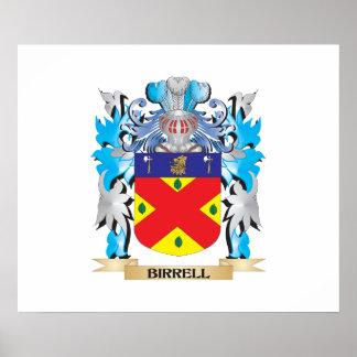 Escudo de armas de Birrell Póster