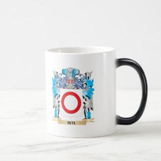 Escudo de armas de Biti Taza De Café