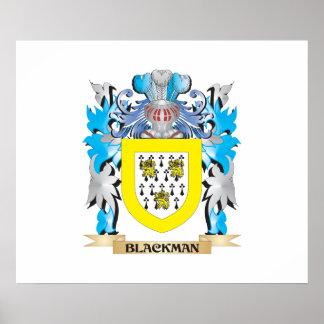 Escudo de armas de Blackman Póster