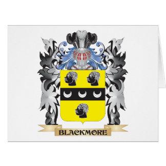 Escudo de armas de Blackmore - escudo de la Tarjeta De Felicitación Grande