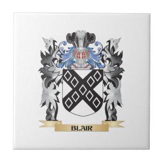 Escudo de armas de Blair - escudo de la familia Azulejo Cuadrado Pequeño