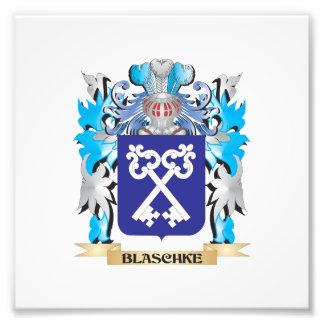 Escudo de armas de Blaschke Impresión Fotográfica