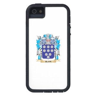 Escudo de armas de Blom iPhone 5 Case-Mate Cárcasa