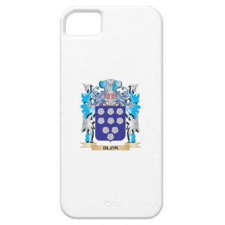 Escudo de armas de Blom iPhone 5 Cárcasas