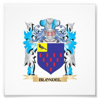 Escudo de armas de Blondel