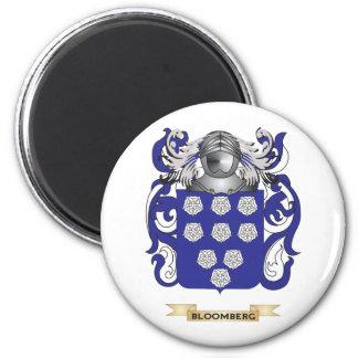 Escudo de armas de Bloomberg (escudo de la familia Imán Redondo 5 Cm