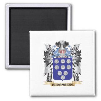 Escudo de armas de Bloomberg - escudo de la Imán Cuadrado