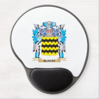 Escudo de armas de Blount Alfombrilla Gel