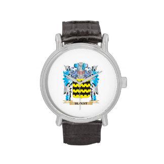 Escudo de armas de Blount Reloj De Mano