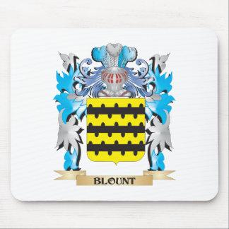Escudo de armas de Blount Alfombrilla De Ratón