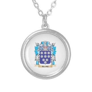 Escudo de armas de Blume Pendiente Personalizado