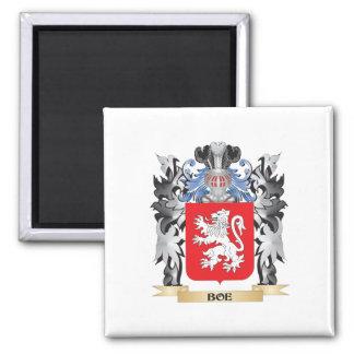 Escudo de armas de Boe - escudo de la familia Imán Cuadrado