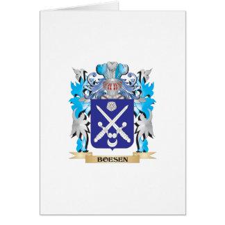 Escudo de armas de Boesen Tarjeton