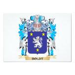 Escudo de armas de Boldt Invitación