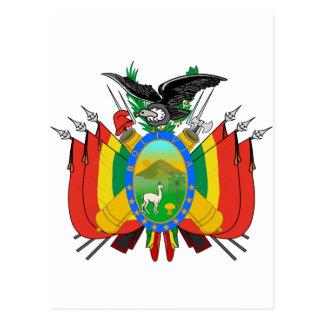 Escudo de armas de Bolivia Postales