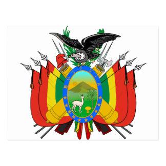Escudo de armas de Bolivia Tarjetas Postales