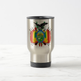 Escudo de armas de Bolivia Tazas De Café