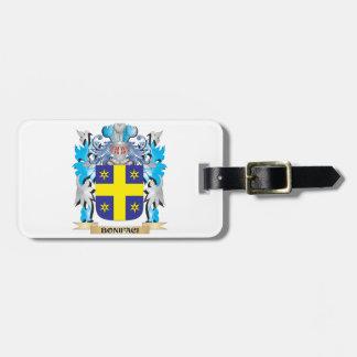 Escudo de armas de Bonifaci Etiqueta Para Equipaje