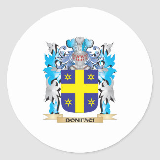 Escudo de armas de Bonifaci Etiqueta Redonda