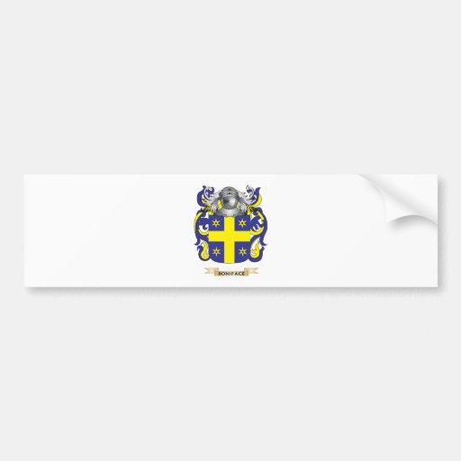 Escudo de armas de Bonifacio (escudo de la familia Pegatina Para Auto