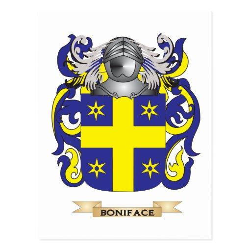 Escudo de armas de Bonifacio (escudo de la familia Tarjetas Postales