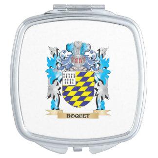 Escudo de armas de Boquet Espejos Compactos
