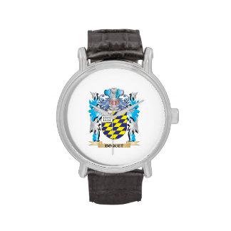 Escudo de armas de Boquet Relojes De Mano