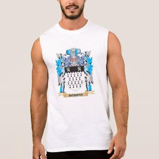 Escudo de armas de Borras Camisetas Sin Mangas