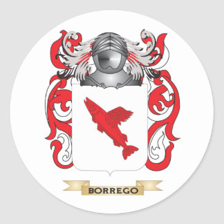Escudo de armas de Borrego escudo de la familia Pegatinas
