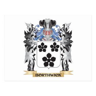 Escudo de armas de Borthwick - escudo de la Postales