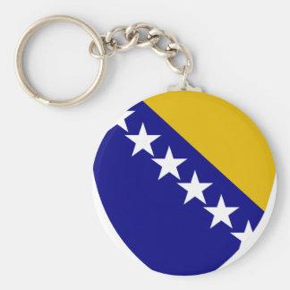 Escudo de armas de Bosnia y Herzegovina Llaveros Personalizados