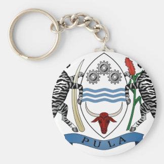 Escudo de armas de Botswana Llavero Personalizado