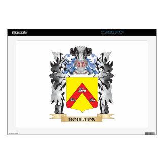 Escudo de armas de Boulton - escudo de la familia 43,2cm Portátil Calcomanías