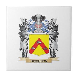 Escudo de armas de Boulton - escudo de la familia Azulejo Cuadrado Pequeño