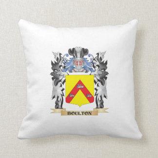 Escudo de armas de Boulton - escudo de la familia Cojín